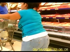 Chubby Butts in Jeans &, Shorts - Public Creeper